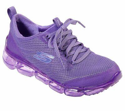 Skechers Shoe Women Purple Neon Memory