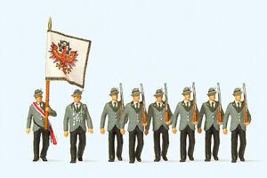 Preiser 24613 H0 Schützen beim Festzug - Dortmund, Deutschland - Preiser 24613 H0 Schützen beim Festzug - Dortmund, Deutschland