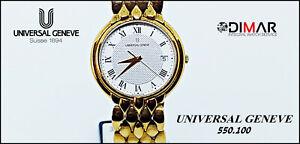 Vintage Universal Genève 550.100 Calibre. ETA.955.412. WR.3 Atm. 10 Micron Gold