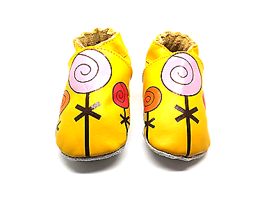Zapatos de Cuero bebé Suave 0-6 6-12 12-18 18-24 años de edad