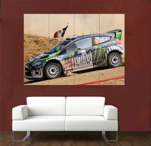 Ken Block Ford Rally Huge Poster S689
