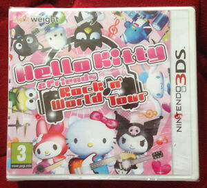 HELLO-KITTY-and-FRIENDS-ROCK-n-039-WORLD-TOUR-Nintendo-3DS-VF-100-NEUF