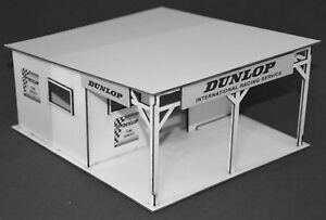 1-32-Scale-Vintage-Dunlop-Tyre-Stall-for-Scalextric-Other-Static-Layouts
