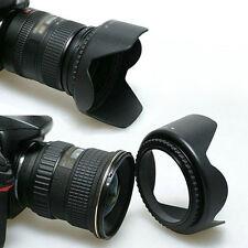 58mm Crown Lens Hood & UV Filter & Lens Cap for Canon EOS 550D 600D 1100D Nikon