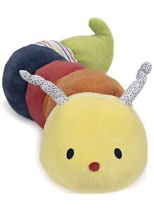"""Gund Baby Tinkle Crinkle Caterpillar 16.5"""" New In Packet Uk Seller 🇬🇧"""