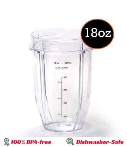 Nutri Ninja 18 Oz Small Mixing Cup Sip /& Seal Lid  Replacement Ninja Blender
