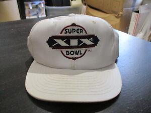 ef2a181b VINTAGE Super Bowl XIX 19 Snap Back Hat Cap Dolphins 49ers NFL ...