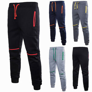 Men-039-s-Casual-Sports-Bottom-Long-Pants-Sweatpants-Training-Jogging-Harem-Trousers