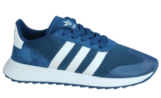 sports shoes 35ee5 7baaf Adidas Originali Flashrunner da Donna Scarpe Ginnastica con Lacci Blu Navy