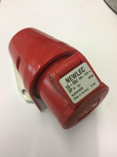 NLP4016NW Newlec Presa industriale 16 A 3P+N IP44 380-415 V