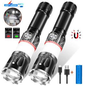 10000LM wasserdichte Mini LED Taschenlampe USB wiederaufladbare Taschenlampe de