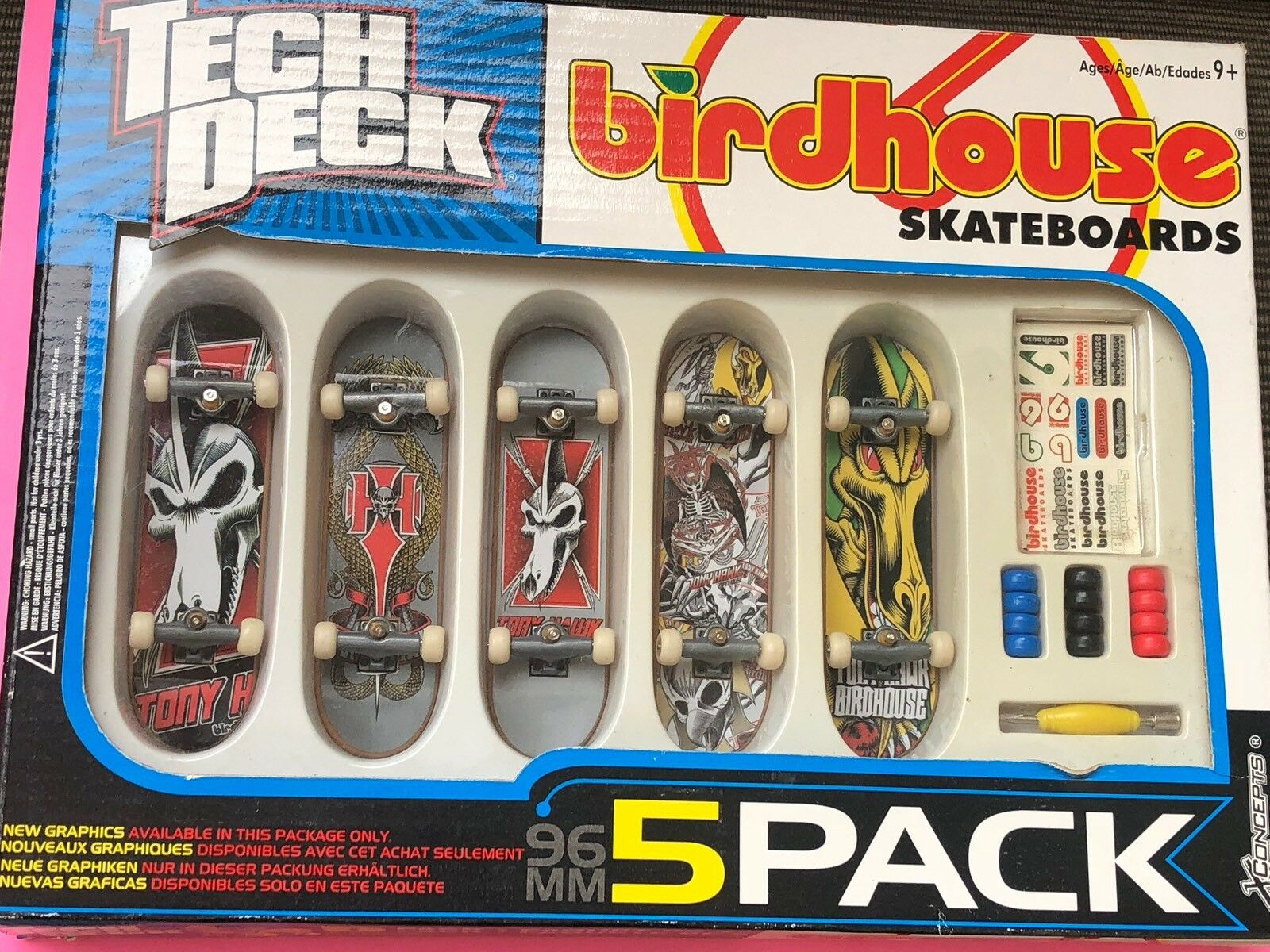 Tech Deck  BIRDHOUSE  DELUXE 5  PACK WITH EXCLUSIVE TECH DECKS