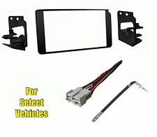 Double Din Radio Kit Combo for some 1995 1996 1997 1998 Chevrolet CK C/K Pickup