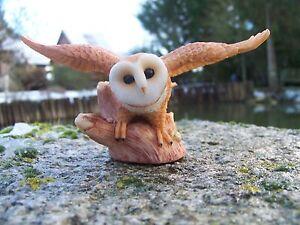 Mo0521 Figurine Statuette Statue Chouette Hibou Chouette Oiseau Wzick1z7-07220620-683235822