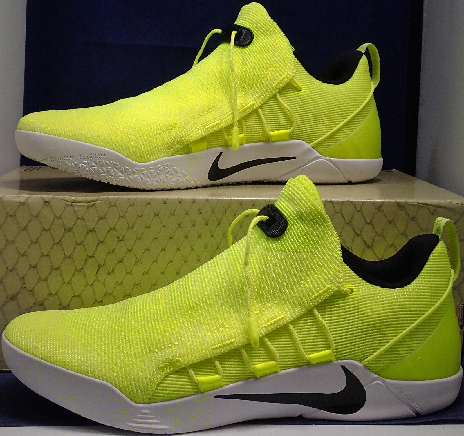 Nike Kobe A. D. Nxt Hmd Volt Blanc Sz 10 (916832-710)