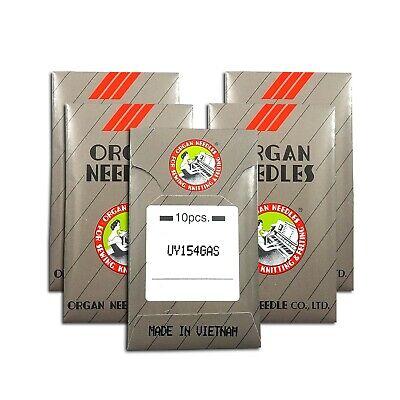 151x21 #14 NEEDLES fits UNION SPECIAL 39500 10 ORGAN UY154 154G PEGASUS E256