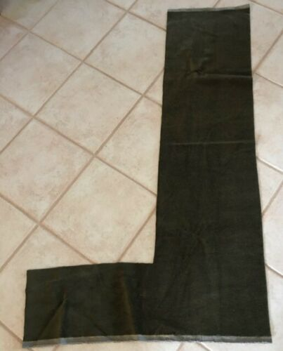 2 yds MOHAIR Remnant Sage Green WOOL FABRIC