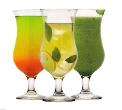 Cocktail glass Hurricane Pina Colada Martini Margarita glassware diff. models