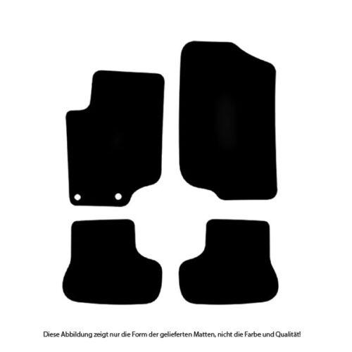 Auto-Fußmatten Classic anthrazit für Peugeot 207CC Cabrio 2007-2015