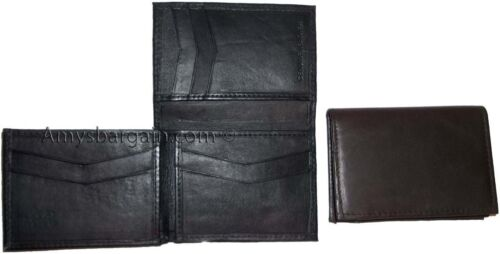 Leather Man's Wallet Trifold wallet New Genuine Leather Billfold wallet 7 cards