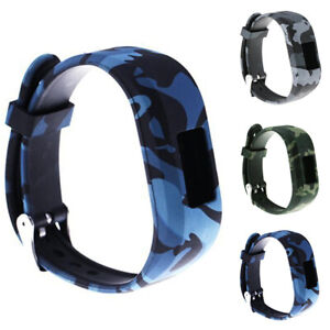 Replacement-Camouflage-Silicone-Wrist-Strap-Watch-Band-for-Garmin-Vivofit-JR2