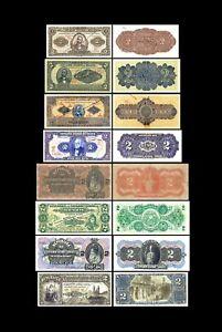 Brésil -  2x  2 Mil Reis - Edition 1890 - 1923 - Reproduction - 38