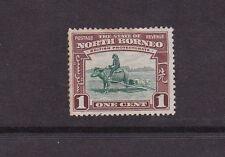 North Borneo 1939 1c Buffalo Transport MLH SG303