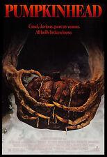 Horror: Pumpkin Head Movie Poster 1988