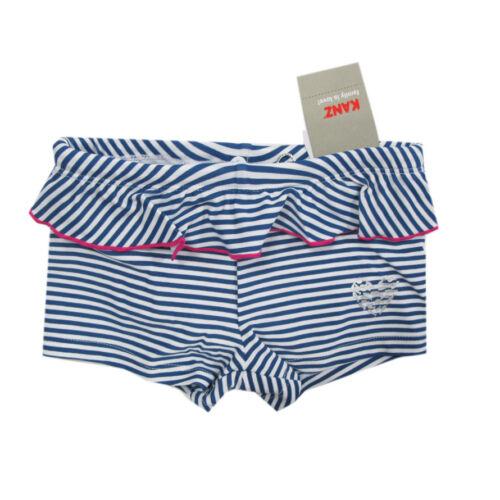 Kanz Bademoden Schwimmwindel-Short Mädchen Baby blau weiß Gr.74,80,86,92
