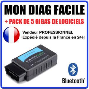 Humoristique Valise Appareil Diagnostique Pro Multimarque Français Obd2 Diagnostic Mdf Blue Couleurs Harmonieuses