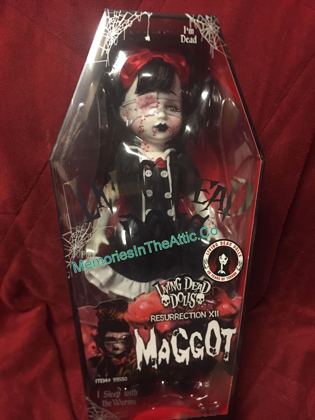 Living Dead Dolls Resurrection Maggot Mezco LDD 2018 NYCC SDCC Fall Exclusive