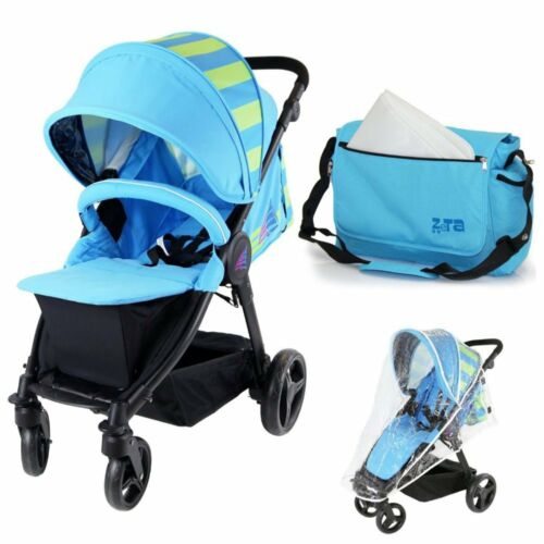Ocean Lime Includes Bumper Bar Rain cover Bootcover /& Bag Sail Stroller
