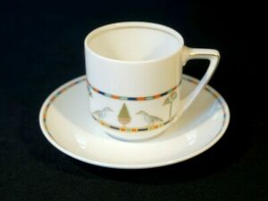 Beautiful-Rosenthal-Donatello-Sias-Cup-And-Saucer