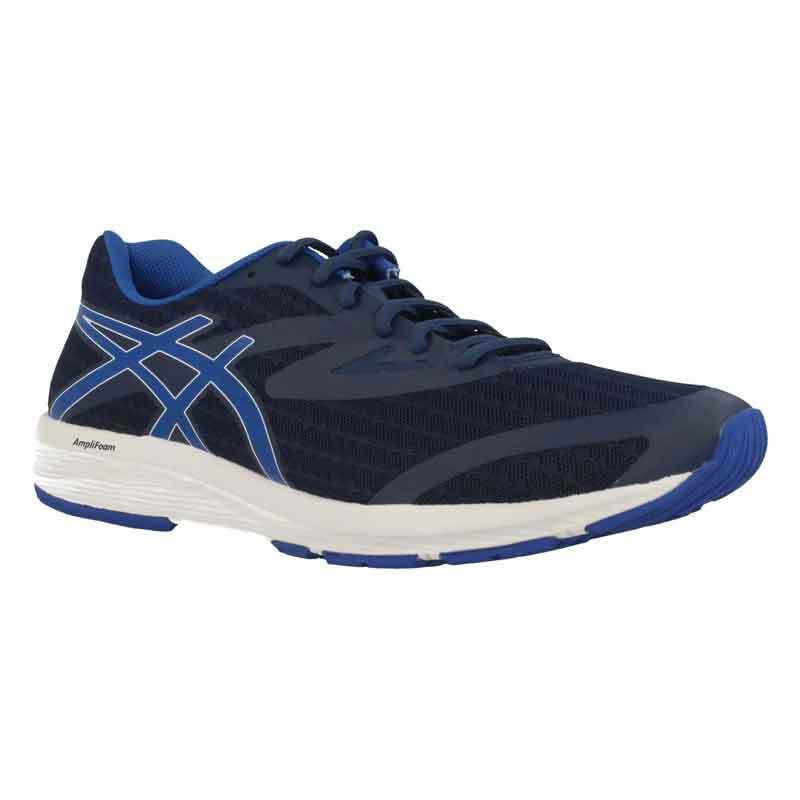 ASICS Amplica Mens Dark bluee Victoria bluee White Running shoes T825N.4945 Size