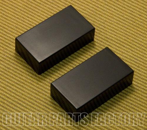 PC-0303-B Black No Holes Humbucker Pickup Covers