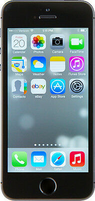 Apple iPhone 5s (Latest Model) - 16GB - Space Grey Smartphone