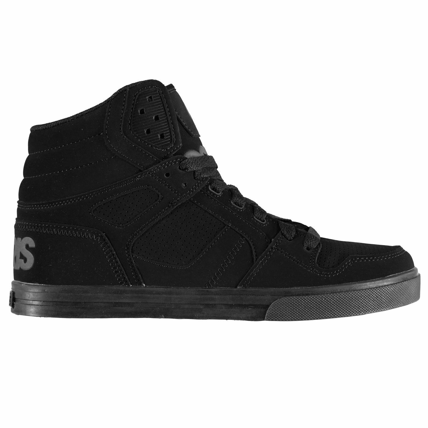 Osiris Mäns Hi Tops Cushioned Lace Up Sports Trainers skor Pump