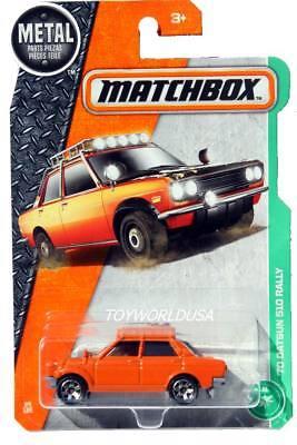 Matchbox 2017 MBX Explorers /'70 Datsun 510 Rally 94//125 6 Spoke Hub Wheels