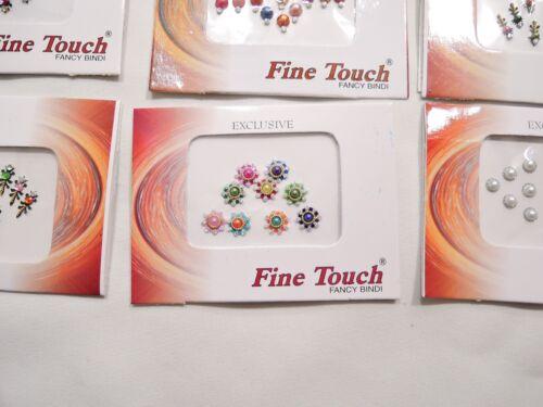 SET OF 50 50 CARDS WHOLESALE LOT  BRIDAL BINDI CARDS HANDMADE BODY JEWELRY