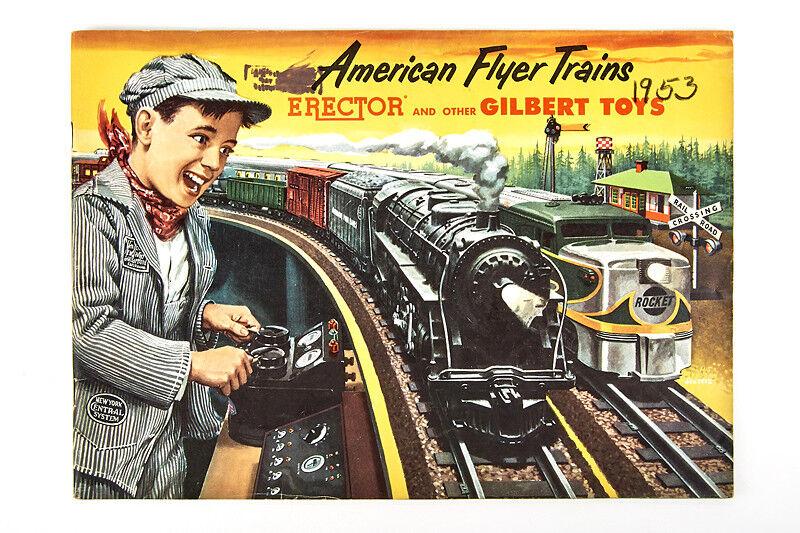 Lot 180818 American Flyer Trains Katalog 1953, Bahnbauten, diverses Spielzeug