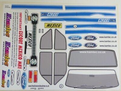 Ford Escort Mk1Van cuerpo 1:10