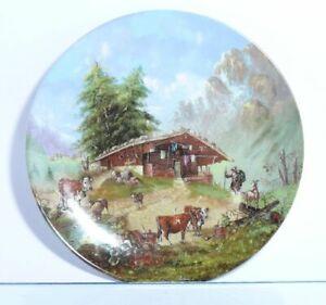 Collection-Plate-Seltmann-Weiden-Bergleben-on-The-Alm-Certificate-Boxed