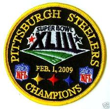 SUPER BOWL XLIII STEELERS SUPERBOWL 43 CHAMPIONS PATCH