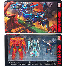 Transformers Hasbro SDCC Titan Force Windblade Brainstorm Sentinel Prime DHL