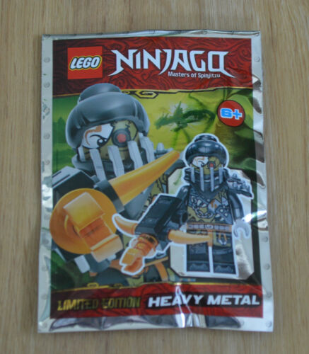 Lego Ninjago™ Limited Edition Mini Figurine Heavy Metal New Original Package