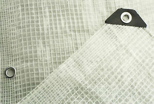 3m-x4m-CLEAR-REINFORCED-TARPAULIN-WITH-NYLON-MESH-amp-REINFORCED-EYELETS-TARP