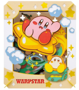 Kirby Super Star WARPSTAR  NEW JAPAN F//S  puzzle PAPER THEATER