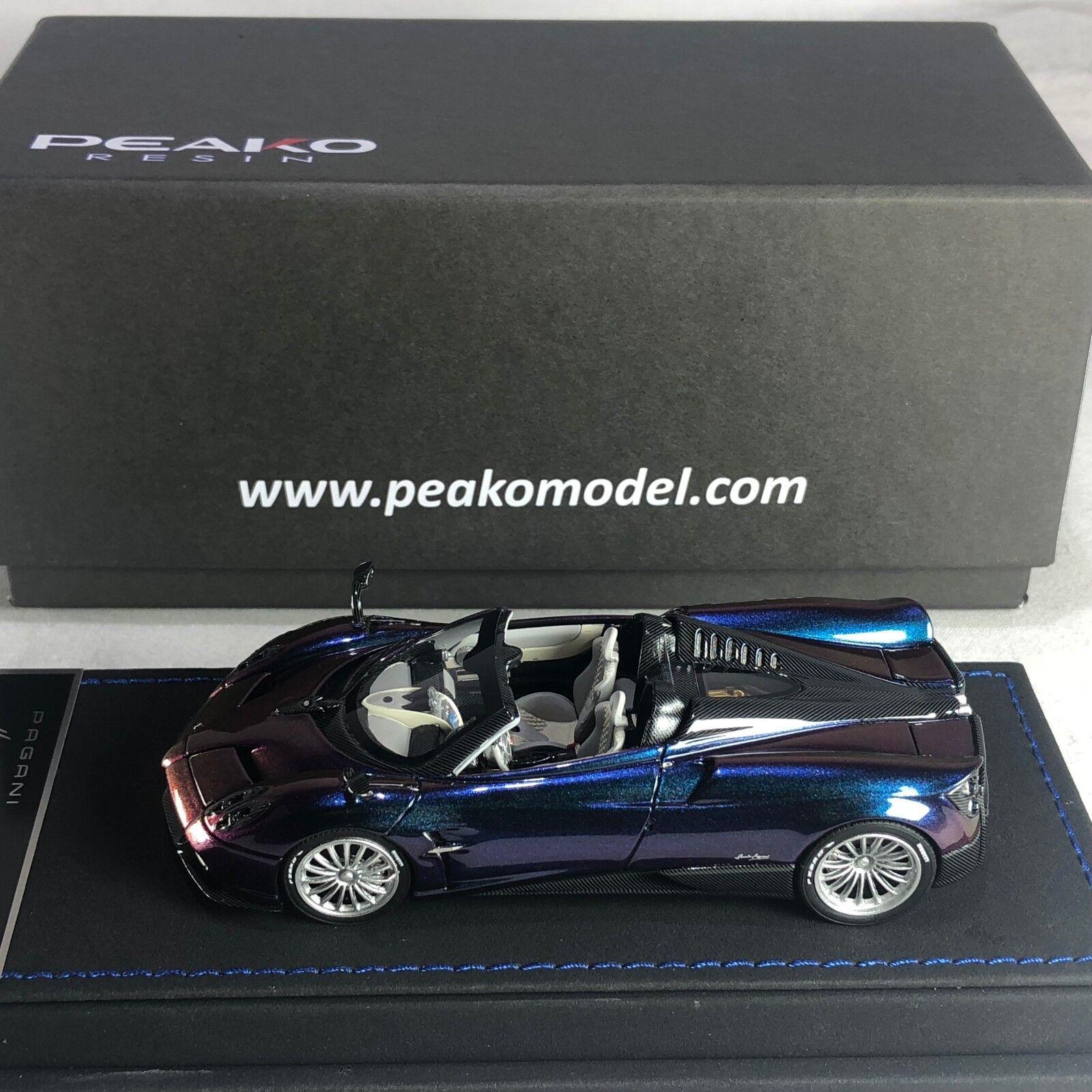 comprar mejor 1 1 1 43 Escala Modelo Peako Pagani Huayra Roadster Camaleón Ltd 50 piezas  seguro de calidad