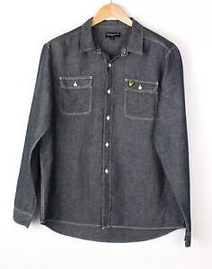 LYLE & SCOTT Herren Vintage Regular Freizeithemd Größe XL BAZ792