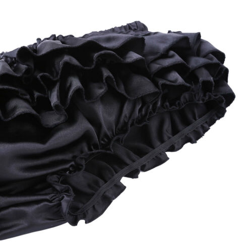 Sissy Men Polka Dots Ruffled Bloomer Tiered Skirt Underwear Thong Bikini Panties